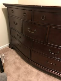 wooden bedroom set HERNDON