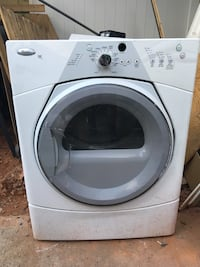 white Whirlpool front-load clothes washer Cornelius, 28031