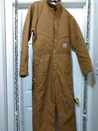 Carhartt Men's Quilt Lined Duck Coverall The Woodlands