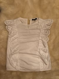 Primark white blouse top