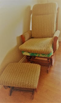 Rocking Chair with Rocking Foot Rest Mission Viejo