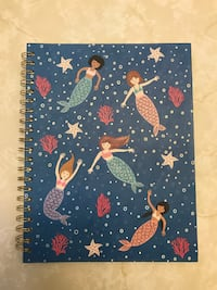 Mermaid spiral notebook  Payson