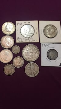 Silver Antique coins 200 or best offer Calgary, T2Y