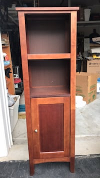 brown wooden 2-door cabinet Ashburn, 20148