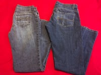 2 Pair Of Stretchy Jeans, Size 9 Las Vegas, 89101