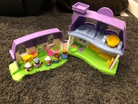 Fisher price house and people makes noises