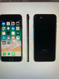 Space gray iphone 7 with brand new accessory Kitchener, N2G 1E1