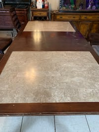 Kitchen table 8' with marble North Las Vegas, 89032