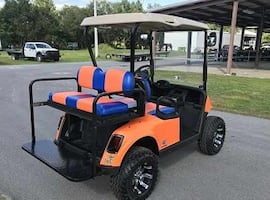 Stylish Electric ((Ez Go)) Ez Go Golf Cart