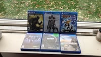 PS4 games in excellent condition  Winnipeg, R3M 1L8