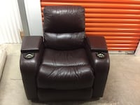 High End leather Media Chair Houston, 77031