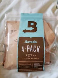 Boveda 4-pack 72% 4 by 60 boveda humidity control Del City, 73115