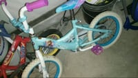 teal and white BMX bike Centreville, 20120