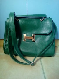 Hermes in pelle verde TRACOLLINA Lecco, 23900