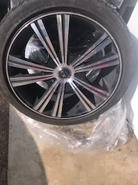 FOR SALE.  WHEELS AND TIRES