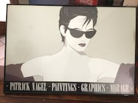 Original Patrick Nagel   Moving and can't take with me. Colorado Springs, 80917