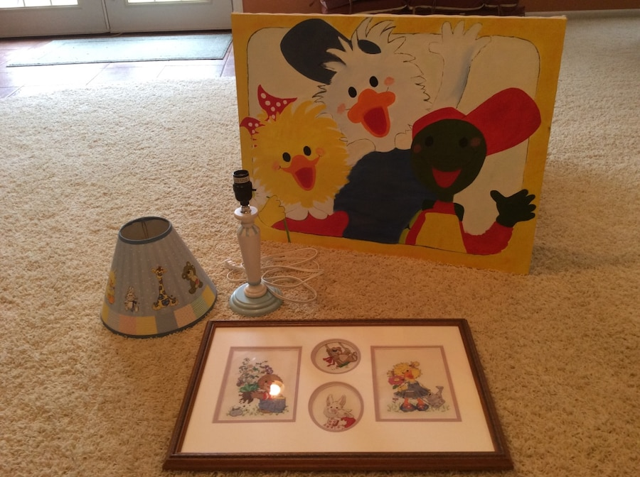 Photo Suzy Zoo collection great for a kids bedroom!!