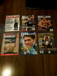 Fitness and soccer magazines  Surrey, V4N 5M2