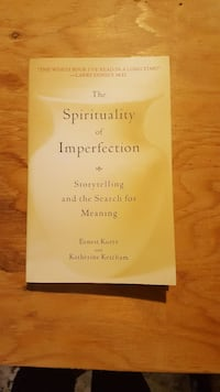 The Spirituality of Imperfection Cornwall, K6J 1C2