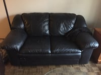 Black Leather Couch Oakville