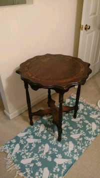 brown wooden side table with drawer Raleigh, 27601