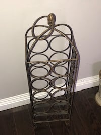 Hand Made Wrought Iron Wine Rack Newmarket, L3Y
