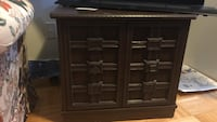 brown wooden cabinet with drawer Toronto, M4A 2K7
