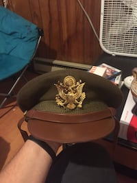 WWII army officers hat Narragansett, 02882