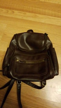 """Leather backpack purse 11""""t x 10""""w Albany, 97322"""