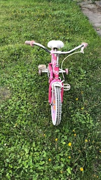 toddler's pink and white bicycle Winnipeg, R2L 0R1