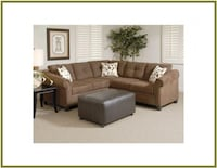 2 piece Chocolate Sectional Baltimore