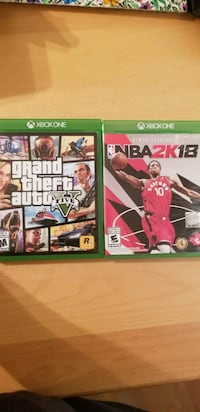 Nba2k18 and gta 5 40$ for both Vancouver, V5R 4B4