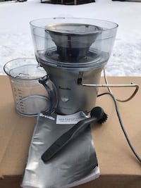 Breville BJE200XL Stainless Steel juicer great condition rarely used works fine Glenn Dale