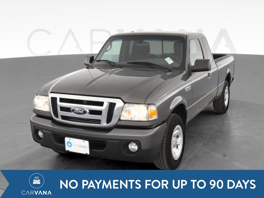 Photo 2011 Ford Ranger Super Cab pickup XLT Pickup 2D 6 ft Gray