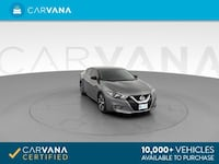 2017 *Nissan* *Maxima* S Sedan 4D sedan GRAY Downey