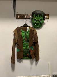 Frankenstein Halloween costume size 9-10 years new with mask  Birmingham, B42 1SH