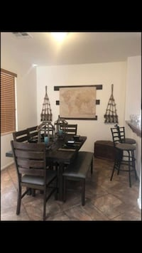 Gorgeous nautical themed dining room set