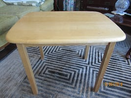 Small Maple Side Table
