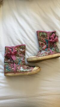 pair of multicolored mid-calf boots Halifax, B3M 3N2