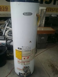 white and gray water heater tank Bakersfield, 93307