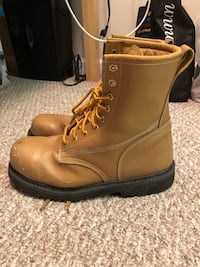Size 12 Steel toe boots