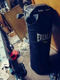 blue and white Everlast heavy bag San Antonio, 78228