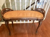 French Antique Cane Bench Toronto, M9A 3S7