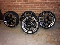 "Universal 20 inch rims ""brand new tires Potomac"
