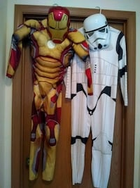costume of muscle Iron Man and Stormtrooper (Star North Canton, 44720