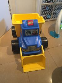 blue and yellow Lego toy truck Brampton, L6T