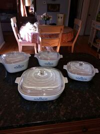 white and pink floral ceramic dinnerware set Silver Spring, 20906