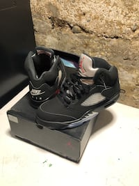 Jordan 5 black metallic og