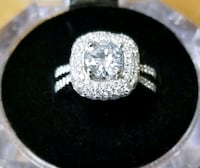 Diamond Ring White Gold Mission, 78572