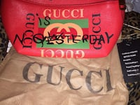 Red Gucci bag Brand New Windsor, N9B 2X9
